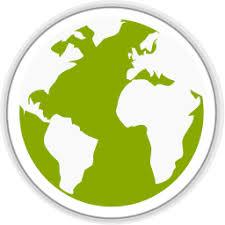 Midori globe Icon Simple Iconset