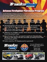 100 Trucks Only Mesa Az Firefighter Program