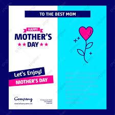 Feliz Dia De La Madre Tarjeta Con Diseño Creativo Día De
