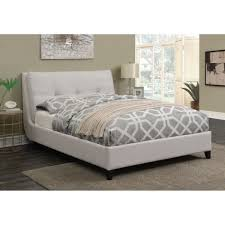 King Platform Bed With Upholstered Headboard by Coaster Amador Upholstered California King Platform Bed With