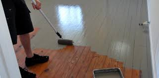 Restaining Wood Floors Without Sanding by How To Paint Wood Floors Today U0027s Homeowner