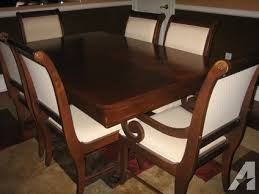 1500 Broyhill Dining Room Table Chairs