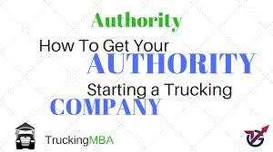 100 Start A Trucking Company VLocity Group Corporation Getting Your Uthority Ing A