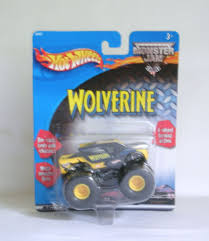 Monster Jam Wolverine Mattel Mudder Diecast Monster Tires Toy Truck