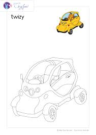 Livre De Coloriage Transport Construction Machinery Image