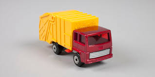 Toy, Matchbox Rubbish Truck, Refuse Truck, No. 36d, 'Collectomatic ...