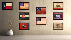 Art american flag wall art Marmont Hill American Flag Wood Wall