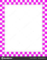 Vector Simple Page Border Fine Decorations Desig Stock