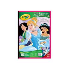 Arte CRAYOLA Libro Gigante Para Colorear De Princesas