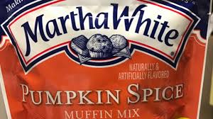 Krusteaz Pumpkin Bread Nutrition by Cooking And Trying Martha White Pumpkin Spice Muffin Mix Youtube