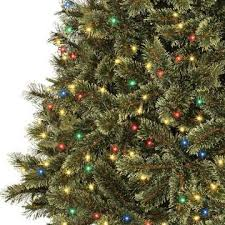Ty Pennington 75ft Pre Lit Cashmere Mixed Pine Artificial Christmas Tree With Multi Colored Lights