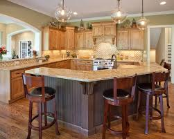 custom kitchen island ideas gallery of kitchen island decor with