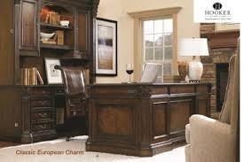 Hooker Furniture European Renaissance II Series Wood Veneer Desks & Chair