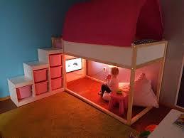 playroom ikea kura bedtent trofast beanbag trofast hack