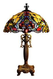 Home Depot Tiffany Style Lamps by 41 Best Stained Glass Ceiling Fan Images On Pinterest Glass