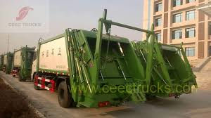 China Best Garbag Compactor Truck Manufacturer -- CEEC TRUCKS - YouTube