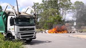 Rubbish Truck Load Catches Fire At Capalaba | Redland City Bulletin