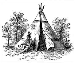 Native American Indian Coloring Books