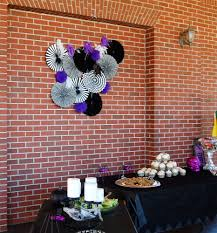 Although The Pavilion Is Beautiful I Wanted To Jazz It Up A Bit Go With Theme So Opted Use Purple And Black Versus Traditional Orange