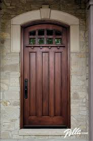 Wood Entry Doors From Pella Are Crafted In Distinct Styles To Complement Your Home