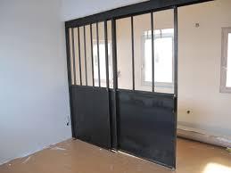 separation cuisine salon vitr porte coulissante vitr e bourg en bresse avec porte