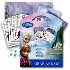 Frozen Pegatinas Actividad Libro Para Colorear Elsa Anna 80100