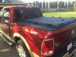 Rambox Bed Cover by A Black Aluminum Tonneau Cover On A Dodge Rambox A Dod Flickr