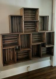 Best 25 Crate Shelving Ideas On Pinterest Wood Shelves