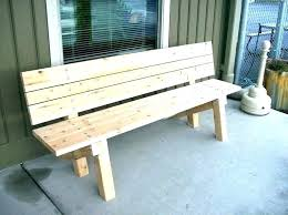 Small Patio Bench Outside Wooden Outdoor Corner Table Nook And Set