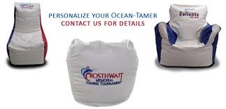 Ocean Tamer Custom Embroidered Logos