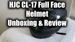 Hjc Cl 17 Chin Curtain by Hjc Cl 17 Helmet Review Youtube