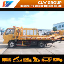 100 Flatbed Truck Bodies Hot Item 36tons Light Tow Body Dongfeng Recovery Wrecker Hydraulic Platform Car
