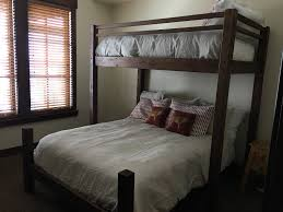 Queen Loft Bed Plans by Bunk Beds Diy Bunk Beds Twin Over Full Futon Bunk Bed Walmart