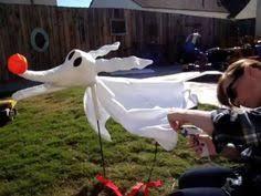 Nightmare Before Christmas Halloween Decorations Diy by Diy Zero Dog Nightmare Before Christmas Halloween Prop Part 1