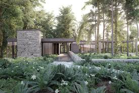 100 Villa In Making Of In A Forest 3D Architectural