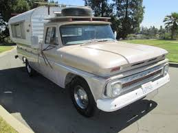100 Alaskan Truck Camper From California 1965 Chevrolet C20