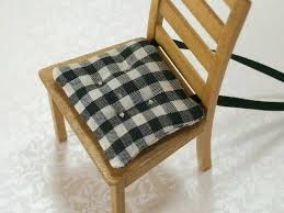 Dining Chair Cushions With Ties Decorations Round Seat Pads Cream