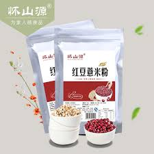 Buy Huai Shan Source Beans Barley Flour 500g Bag Of Red Powder In Cheap Price On Malibaba