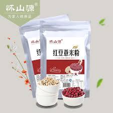 Buy Huai Shan Source Beans Barley Flour 500g Bag Of Red Powder In Cheap Price On Malibaba