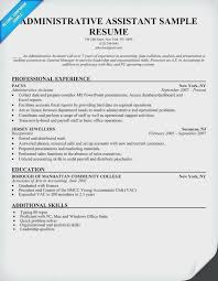 Receptionist Jobs No Experience With Sample Resume For Administrative Assistant Pertaining Nyc