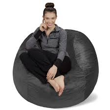 King Fuf Bean Bag Chair by Amazon Com Sofa Sack Bean Bags Memory Foam Bean Bag Chair 4