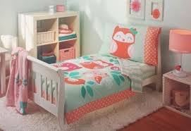 Tinkerbell Toddler Bedding by Green Orange Toddler Bedding Sets With Owl Character On White Wood