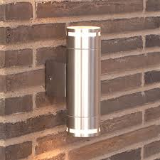 nordlux can maxi outdoor wall light silver eames lighting
