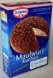 dr oetker maulwurfkuchen mole hill cake baking mix