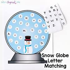 Snowman Alphabet Activity and Printable