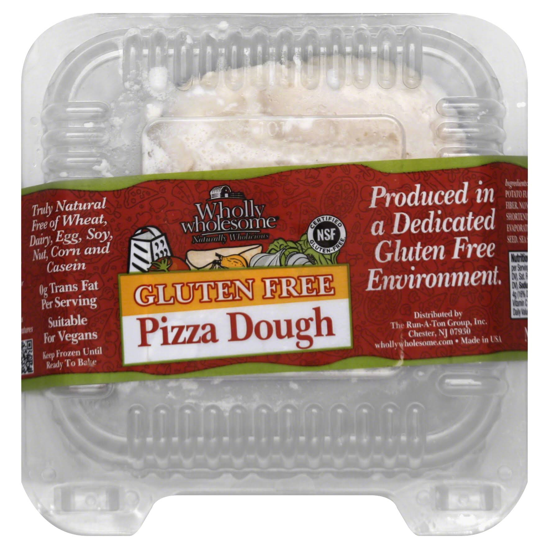 Wholly Wholesome Pizza Dough, Gluten Free - 14 oz