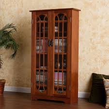 Leslie Dame Media Storage Cabinet Uk by Cd Media Storage Cabinet With Glass Doors Best Home Furniture