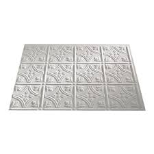 Fasade Glue Up Decorative Thermoplastic Ceiling Panels by Amazon Com Fasade Easy Installation Traditional 1 Matte White