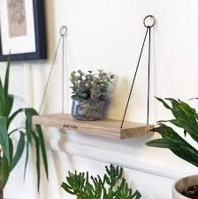 mini pflanze killer eiche regal hängen solide holzregal büro schlafzimmer wohnzimmer dekor schwimmende regal weltweiter versand