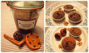 glühwein kuchen im glas oder muffins
